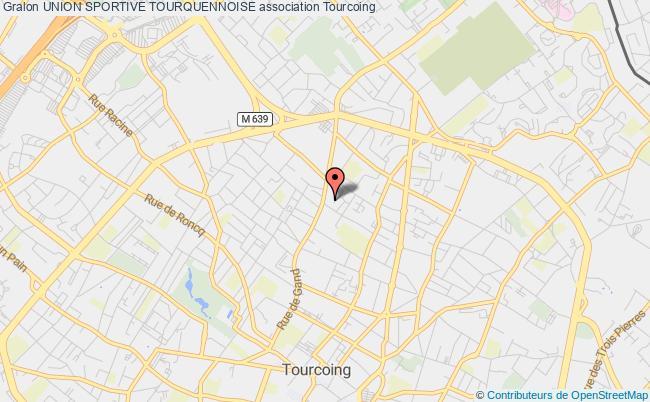 plan association Union Sportive Tourquennoise Tourcoing