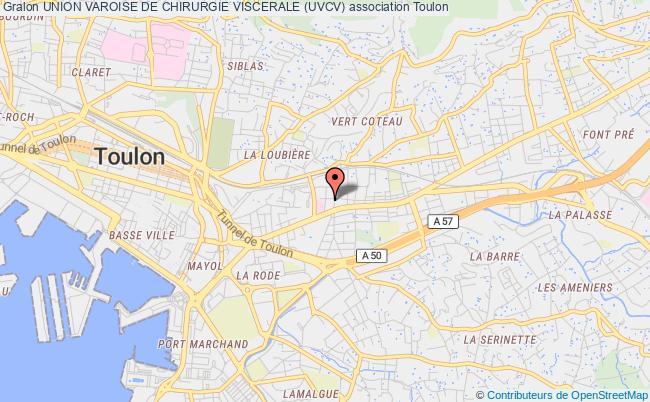 plan association Union Varoise De Chirurgie Viscerale (uvcv)