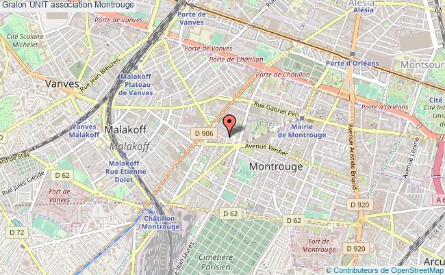 plan association Unit Montrouge