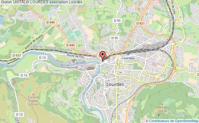 plan association Unitalsi Lourdes Lourdes