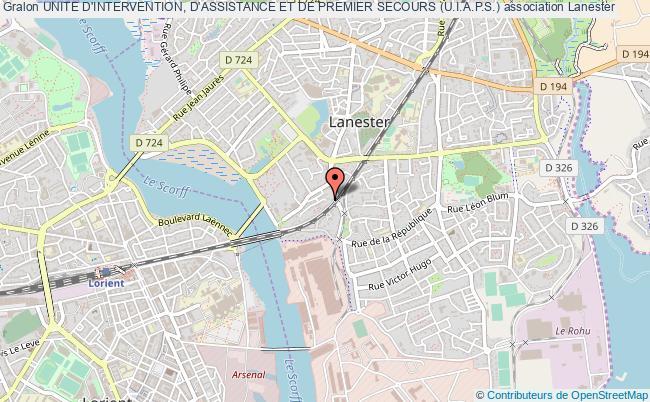 plan association Unite D'intervention, D'assistance Et De Premier Secours (u.i.a.p.s.)