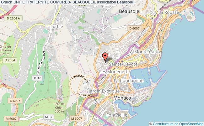 plan association UnitÉ FraternitÉ Comores- Beausoleil