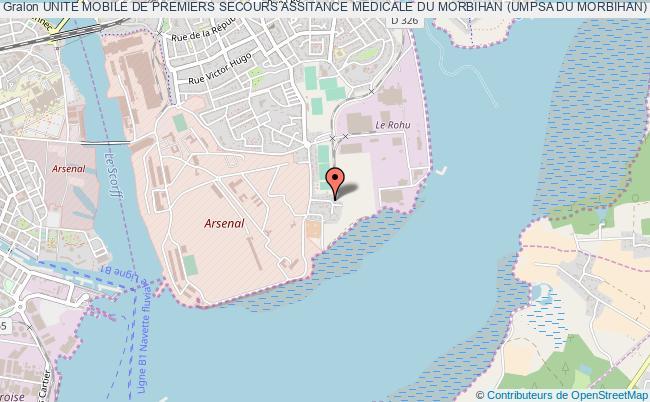 plan association Unite Mobile De Premiers Secours Assitance Medicale Du Morbihan (umpsa Du Morbihan)