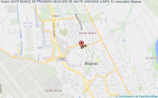 plan association UnitÉ Mobile De Premiers Secours De Haute-garonne (umps 31)
