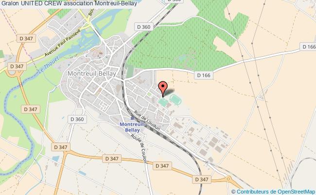plan association United Crew Montreuil-Bellay