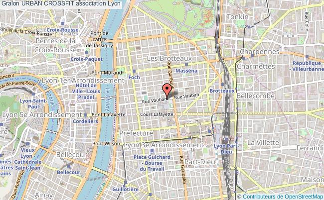 plan association Urban Crossfit