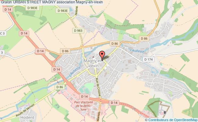 plan association Urban Street Magny Magny-en-Vexin