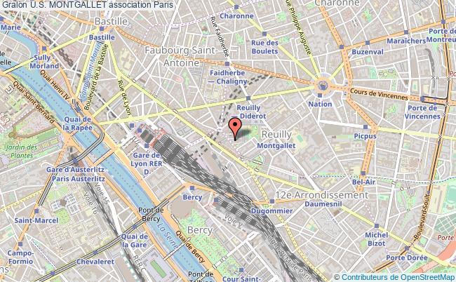 plan association U.s. Montgallet Paris