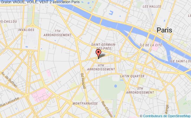 plan association Vague, Voile, Vent 2 Paris