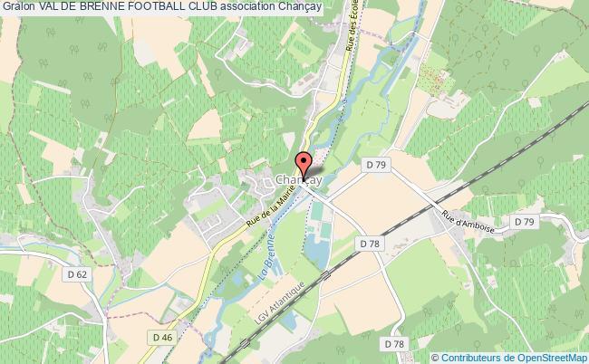 plan association Val De Brenne Football Club Chançay