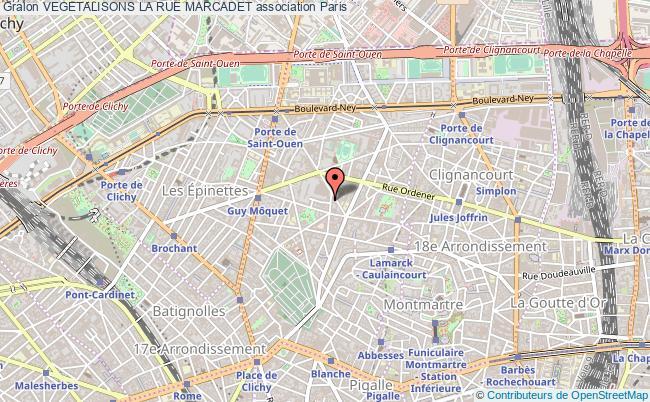 plan association Vegetalisons La Rue Marcadet