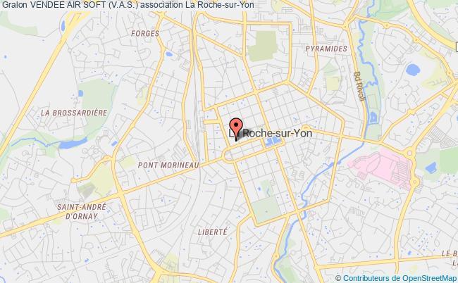 plan association Vendee Air Soft (v.a.s.) Roche-sur-Yon