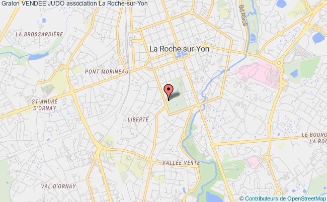 plan association Vendee Judo Roche-sur-Yon