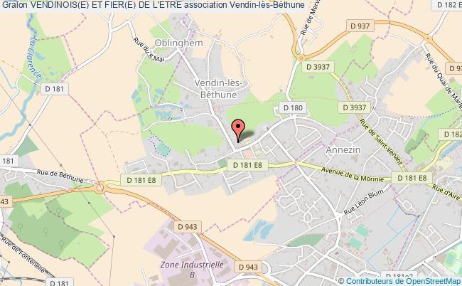 plan association Vendinois(e) Et Fier(e) De L'etre