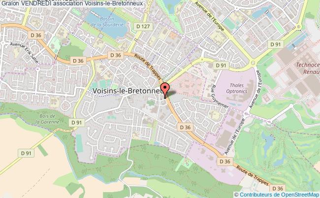 plan association Vendredi Voisins-le-Bretonneux