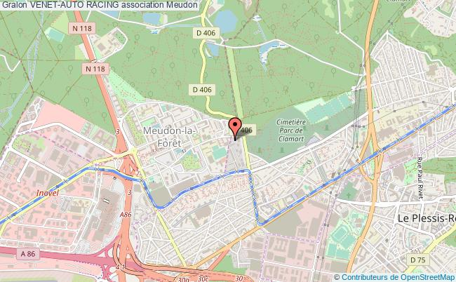 plan association Venet-auto Racing Meudon