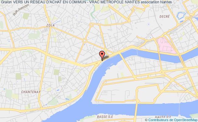 plan association Vers Un RÉseau D'achat En Commun - Vrac MÉtropole Nantes