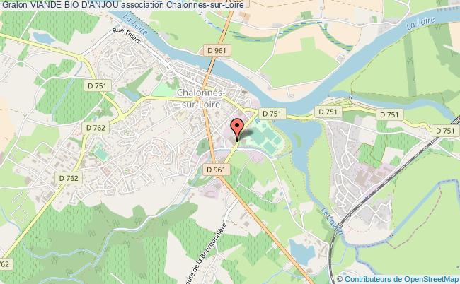 plan association Viande Bio D'anjou Chalonnes-sur-Loire