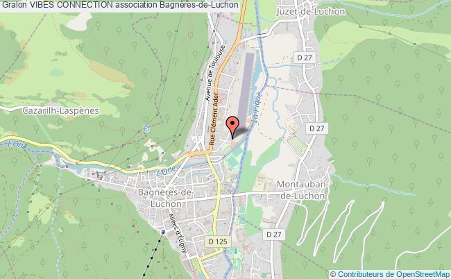 plan association Vibes Connection Bagnères-de-Luchon