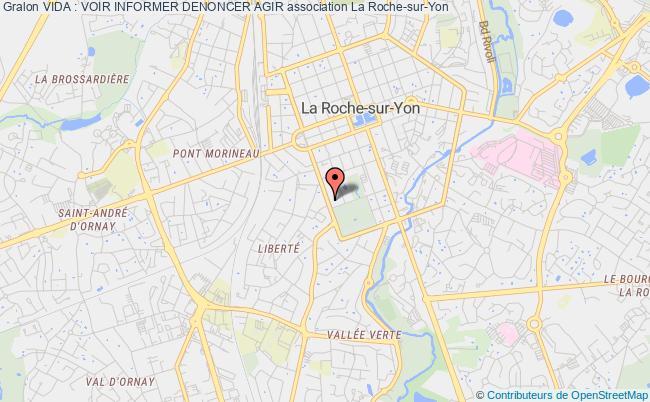 plan association Vida : Voir Informer Denoncer Agir La Roche-sur-Yon