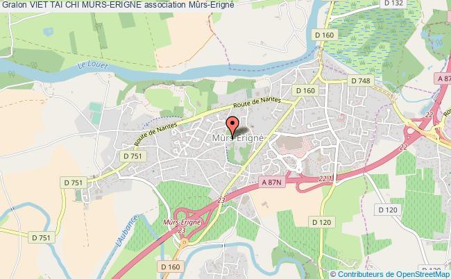 plan association Viet Tai Chi Murs-erigne Mûrs-Erigné