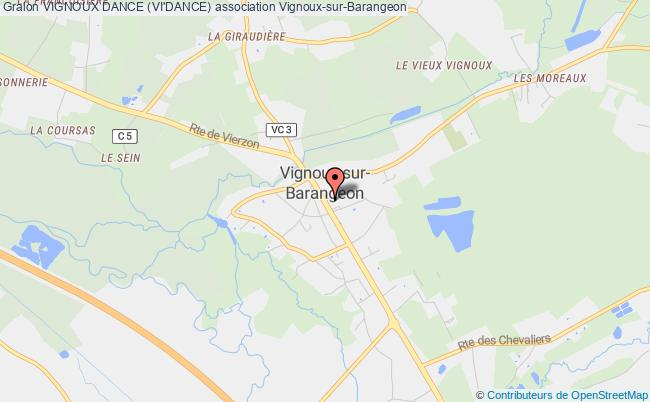 plan association Vignoux Dance (vi'dance) Vignoux-sur-Barangeon