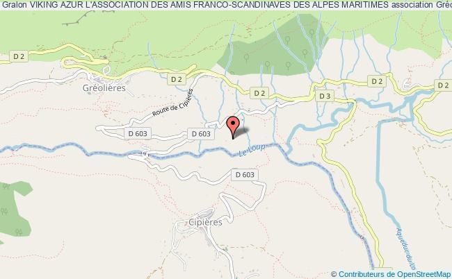 plan association Viking Azur L'association Des Amis Franco-scandinaves Des Alpes Maritimes