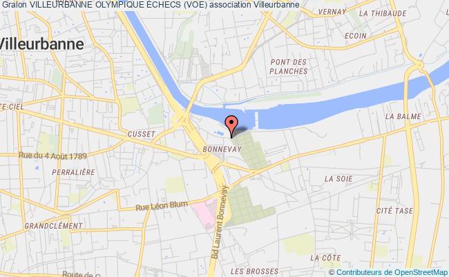 plan association Villeurbanne Olympique Échecs (voe)