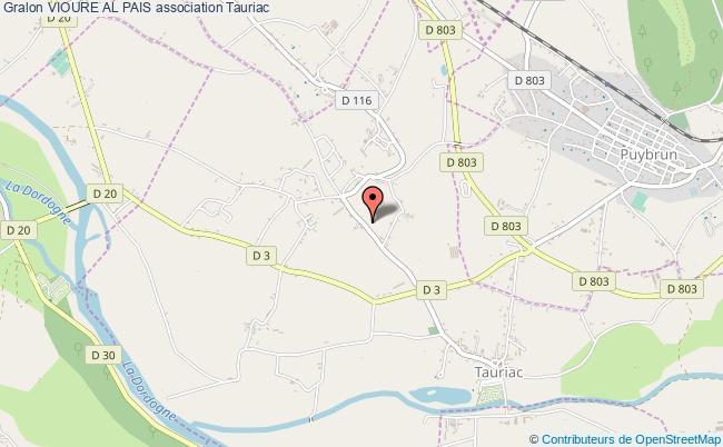 plan association Vioure Al Pais Tauriac