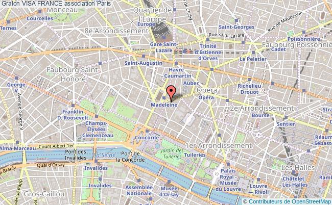 plan association Visa France
