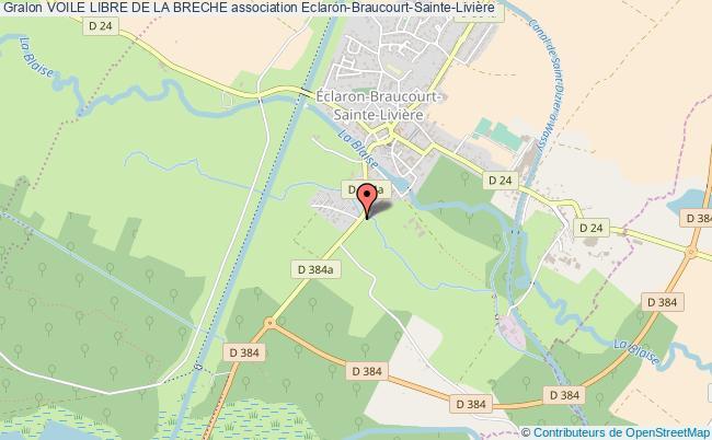 plan association Voile Libre De La Breche