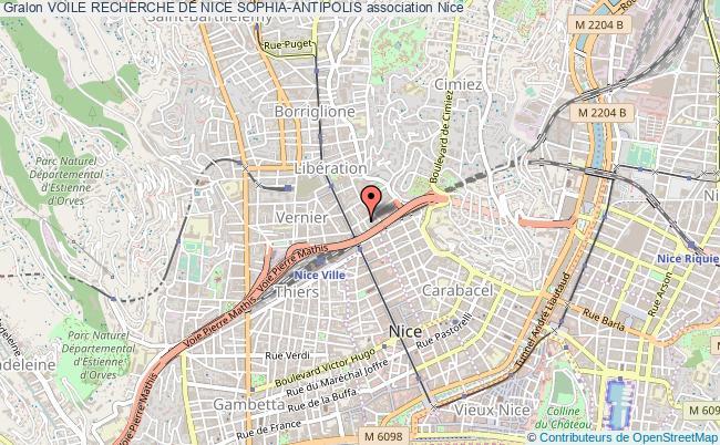 plan association Voile Recherche De Nice Sophia-antipolis Nice