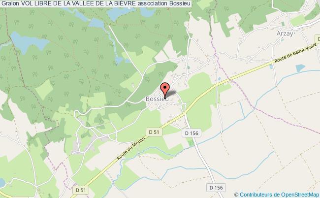 plan association Vol Libre De La VallÉe De La BiÈvre Bossieu