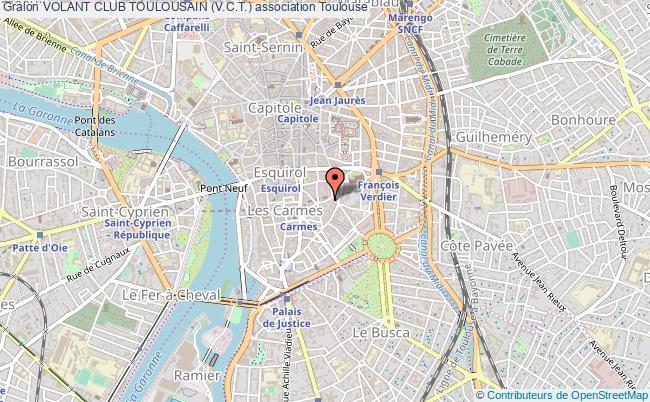 plan association Volant Club Toulousain (v.c.t.)