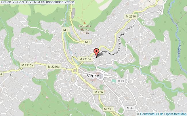 plan association Volants Vencois