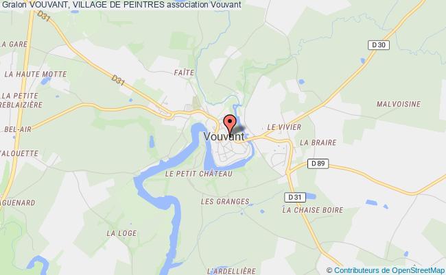 plan association Vouvant, Village De Peintres