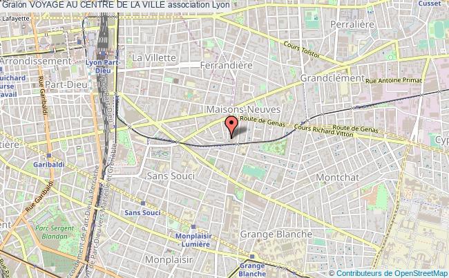 plan association Voyage Au Centre De La Ville