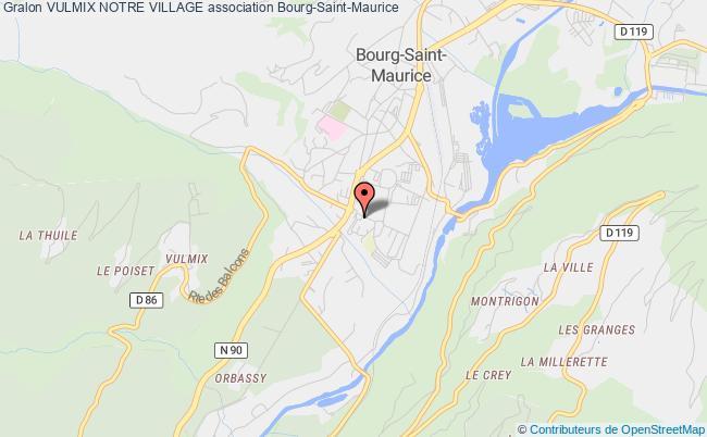 plan association Vulmix Notre Village