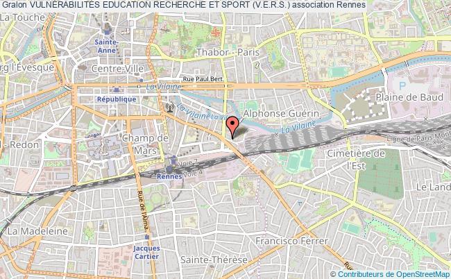 plan association VulnÉrabilitÉs Education Recherche Et Sport (v.e.r.s.) Rennes
