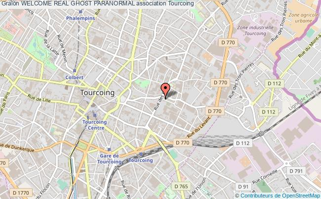 plan association Welcome Real Ghost Paranormal Tourcoing