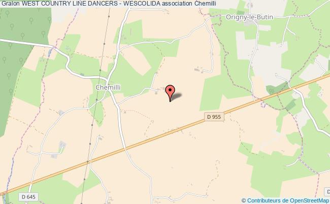 plan association West Country Line Dancers - Wescolida