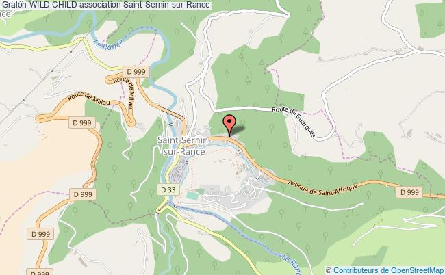 plan association Wild Child Saint-Sernin-sur-Rance