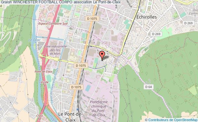 plan association Winchester Football Corpo Pont-de-Claix