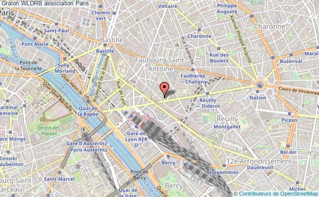 plan association Wldrb PARIS