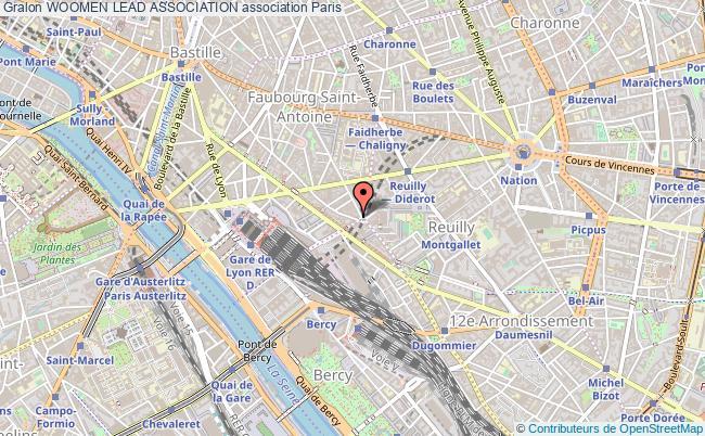 plan association Woomen Lead Association Paris