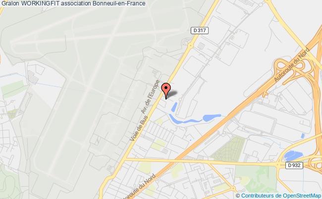 plan association Workingfit Courbevoie