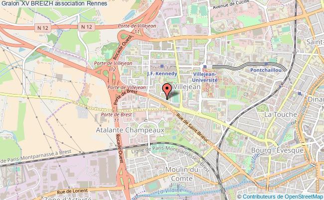 plan association Xv Breizh Rennes