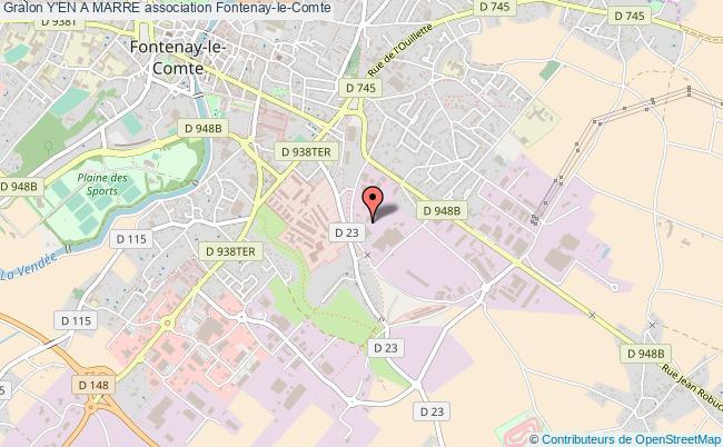 plan association Y'en A Marre Fontenay-le-Comte