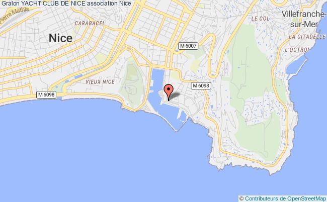 plan association Yacht Club De Nice Nice