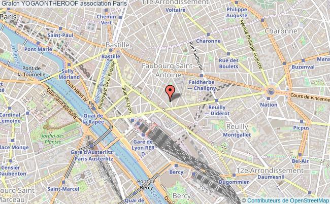 plan association Yogaontheroof Paris